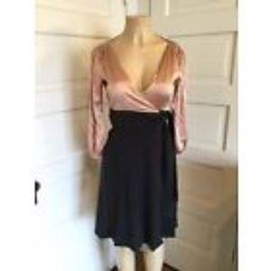 Diane Von Furstenberg Silk/Wool Wrap Dress